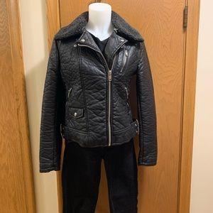 NEW LEATHER JACKET❕Black Rivet Leather Jacket